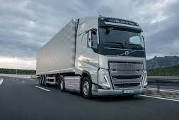 Truck available for transport throughout Europe